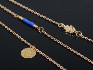 【ファティマの手】3連ゴールド ネックレス