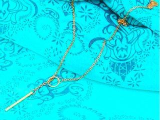 ゴールドリング・ネックレス