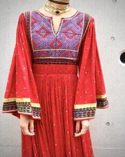 【AFGANI DRESS RED】