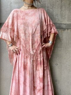 【1970s MORROCAN MAXI DRESS PINK】