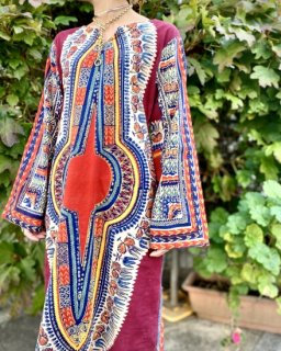 【1970s BOHO KAFTAN DRESS】