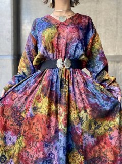 【MULTI COLOR GRADATION DRESS】