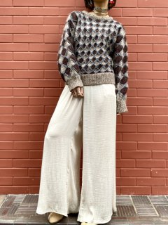 【1980s DESIGN KNIT SWATER】