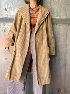 【CORDUROY GOWN JACKET】