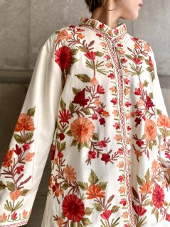 【EMBROIDERY MANDARIN JACKET】