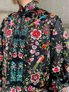 【1960s EMBROIDERY SILK CHINISE JACKET】