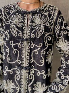 【EMBROIDERED CHINESE STYLE JACKET】