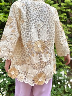 【CUTWORK LACE JACKET】