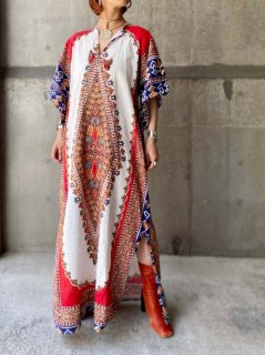 <img class='new_mark_img1' src='https://img.shop-pro.jp/img/new/icons14.gif' style='border:none;display:inline;margin:0px;padding:0px;width:auto;' />【1970s DASHIKI MAXI DRESS】