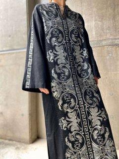【1970s GREEK BLACK DRESS 】