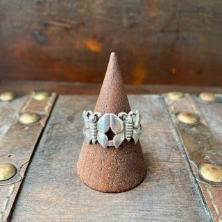 【VINTAGE SILVER BUTTERFLY RING 13号】