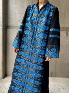 【1970s EMBROIDERED DRESS FROM GREECE】