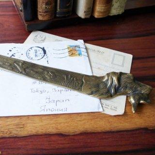 Vintage Brass Paper Knife