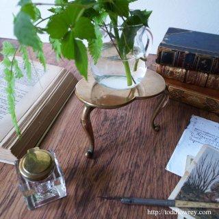 Antique Miniature Shamrock Table