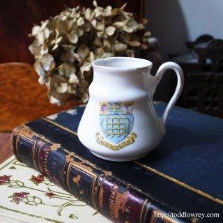小さな小さなコレクタブル/Victorian Crested China Vase