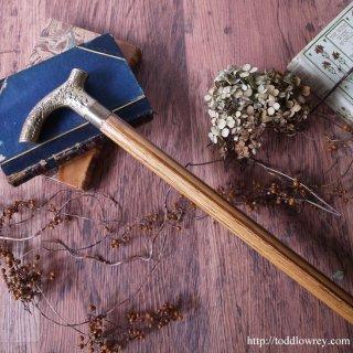 Vintage Brass Handle Stick