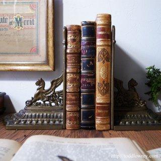Antique Griffin Book Ends
