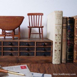 小さなエルフの指定席 / Vintage Miniature Kitchen Chair