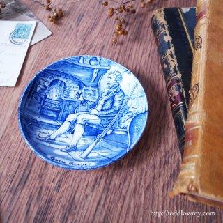 暖炉の炎に癒されながら一杯 / Vintage Enoch Wedgwood Small Plate