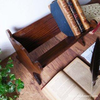 広げて縮めて並べる本の槽 /Antique Oak Expanding Book Trough
