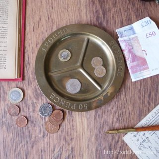 Vintage Coin Tray