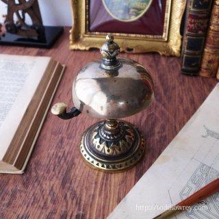 Antique Victorian Brass Counter Bell