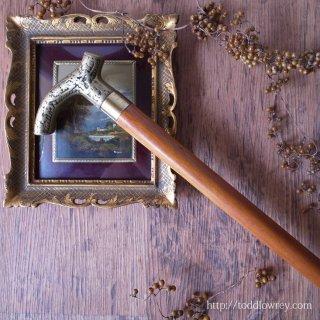 紳士の為の仕掛け杖 / Vintage Two Pieces Walking Stick  with Flask