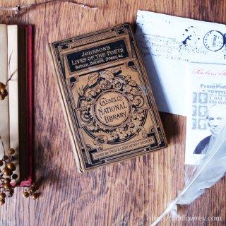 18世紀英国文学者の論説を19世紀ヴィクトリアンの装丁で愉しむ / Antique Book