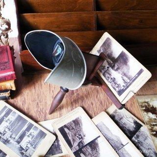 100年前のエンターテインメント /Antique Stereoscope by UNDERWOOD & UNDERWOOD New York