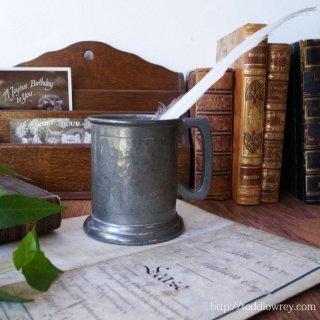Antique Hand Hummerd Pewter Tankard