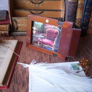 遥かなるカメラへの追憶 / Antique Photoframe by Film Plate Holder