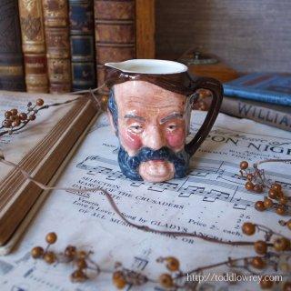 ハンリーの街から来た髭親爺 / Vintage Miniature Toby Jug by Lancaster & Sandland