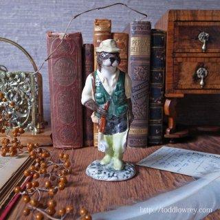 魚捕りはカワウソ氏にお任せを! / Vintage BESWICK English Country Folk