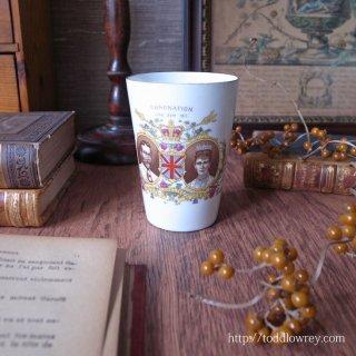 君臨すれども統治せず / Antique George V Coronation Cup by Shelley