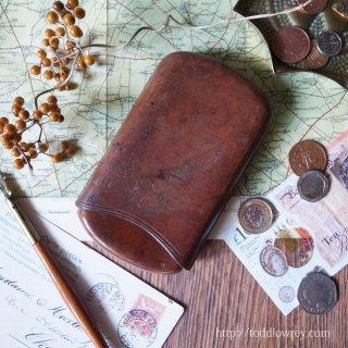Antique Leather Cigar Case