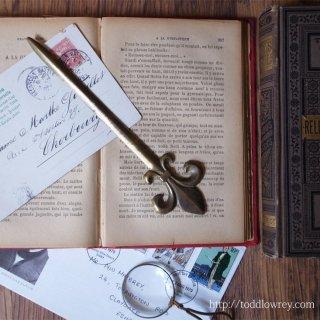 Vintage Brass Letter Opener
