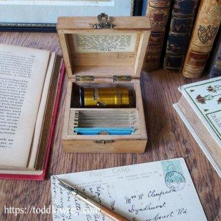胸躍る発見はポケットから /Antique Cylinder Pocket Microscope