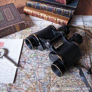 第二次大戦を遥かに過ぎて / Antique Prism Binoculars by A.KERSHAW & SON 1939