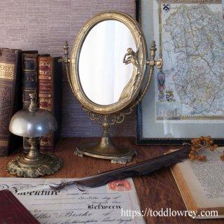 鏡越しの逢瀬 / Antique Art Nouveau Style Stand Mirror