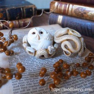 フクロウと蛇はいたずらかお菓子か / Adam Binder Editions