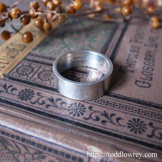 質感重視の潔さ / Vintage Sterling Silver Ring