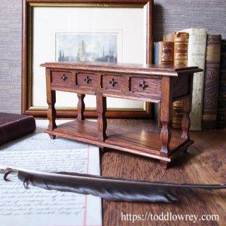 ミニチュアで味わう英国家具 /Antique Miniature Side Table