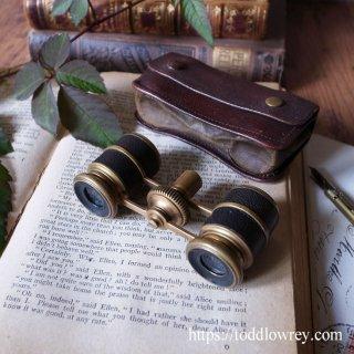 シックでダンディな遠眼鏡 / Antique Opera Glasses in Original Leather Case