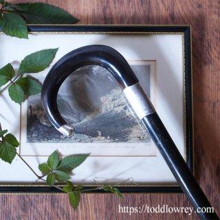 ウェールズの伝説の王女の名を持つ杖 / Antique Victorian Walking Stick With Sterling Silver Collar & Crown