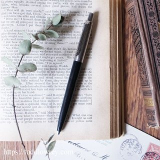 今は無きロゴマークをもつ名筆記具 / Vintage PARKER Jotter Ballpoint Pen