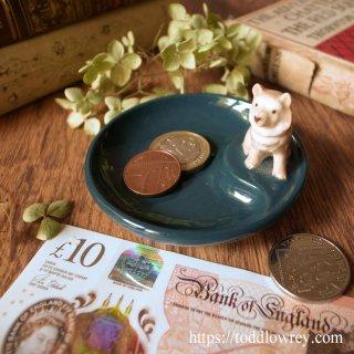 アイルランド生まれのパピーはいかが / Vintage WADE WHIMTRAY with Puppy