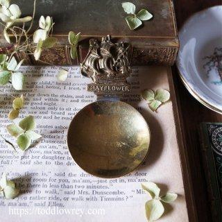 自由を信じて海を渡った帆船のスプーン / Antique Tea Caddy Spoon