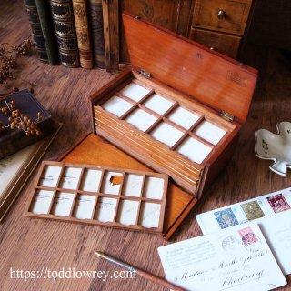 光学機器商の小箱 / Antique Victorian Optician's Small Box