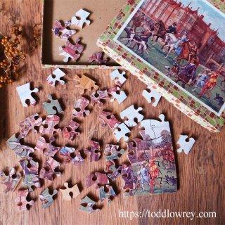 ジグソーパズルの生まれ故郷から / Vintage Wooden Jigsaw Pazzle