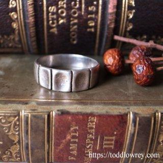 銀のブロックを並べて / Vintage Sterling Silver Ring